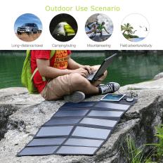Placas solares portátiles camping y senderismo